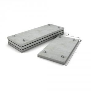Плоская укороченая плита перекрытия ППУ 20-15